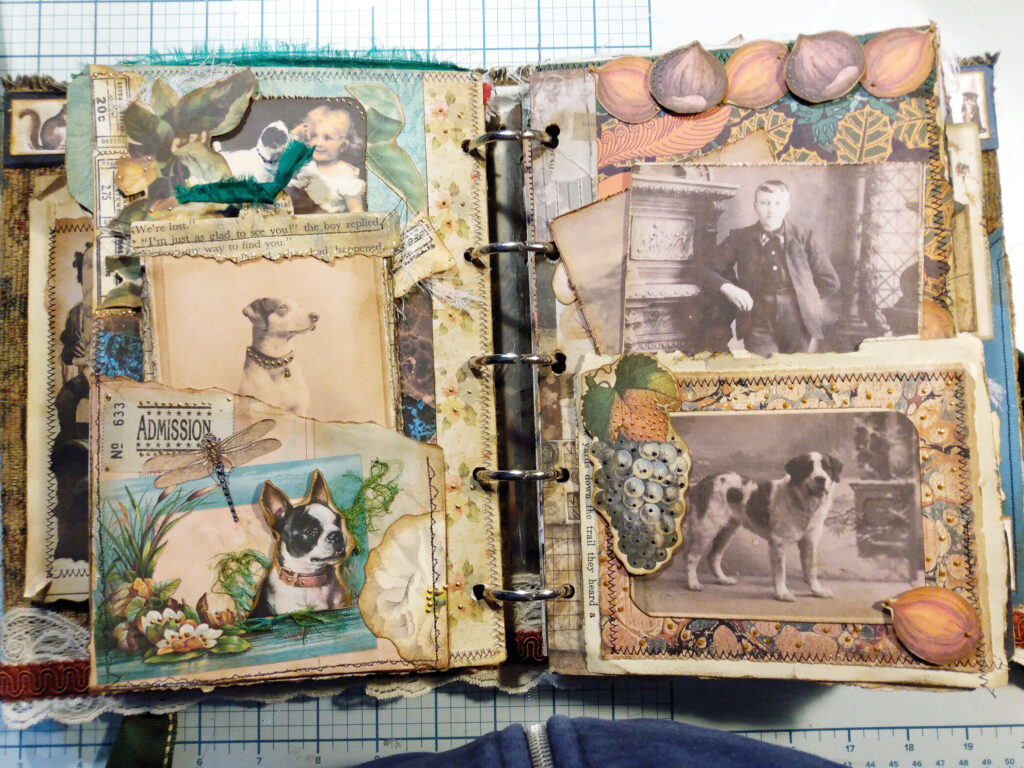 Ancestor dogs journal page