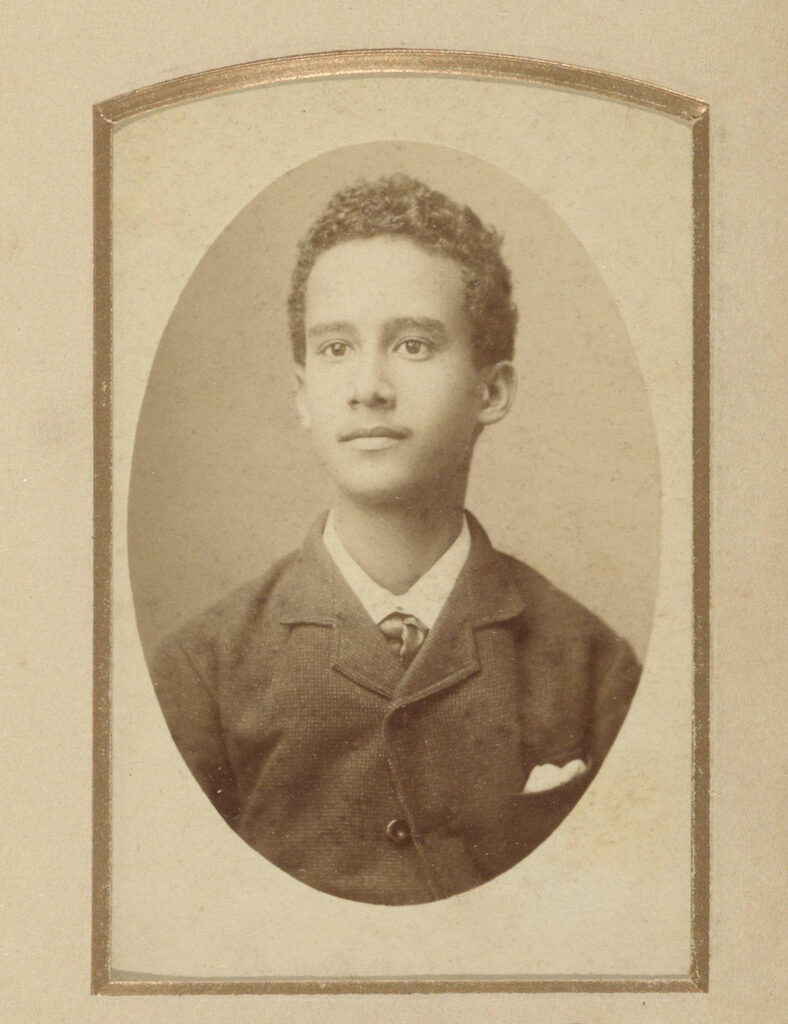 Antique Photo Young Man
