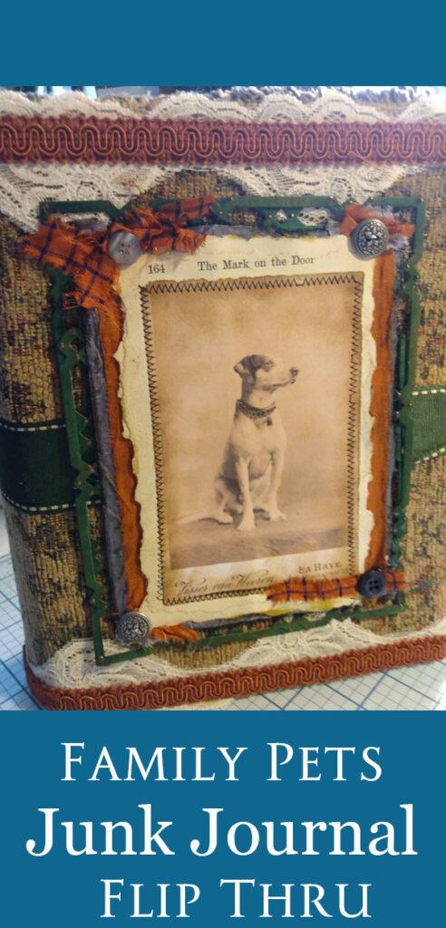 Family Pets Junk Journal
