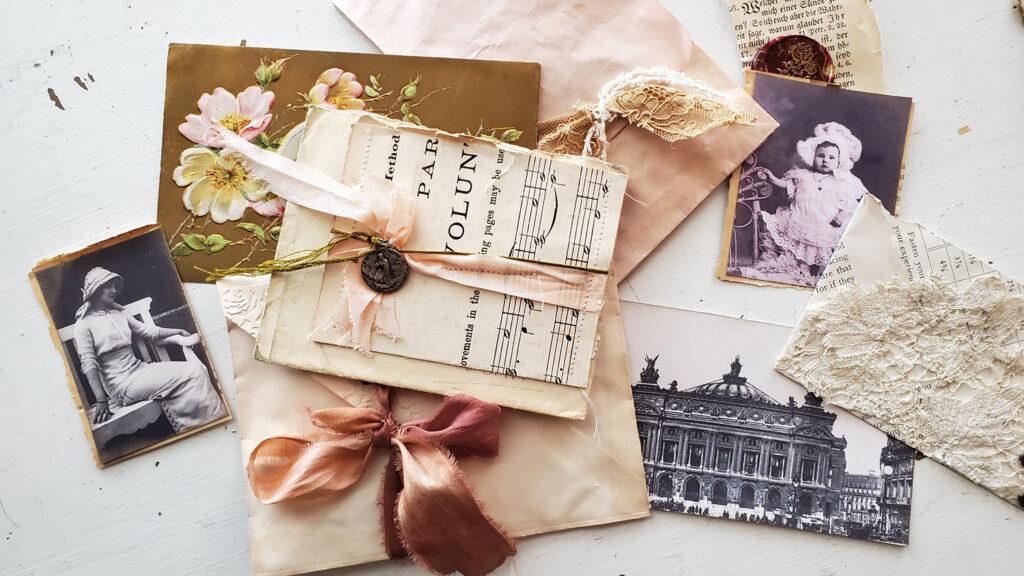 junk journal envelope