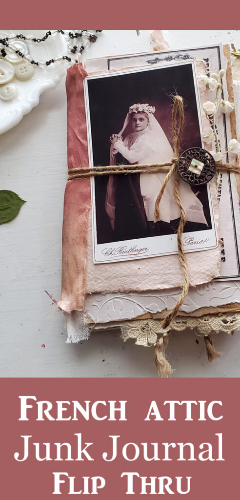 French Attic Junk Journal