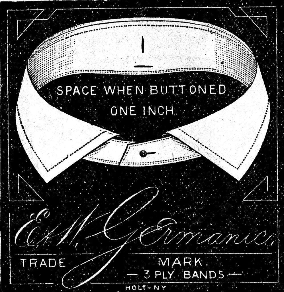 vintage collar clipart