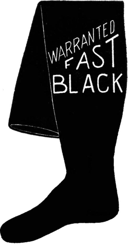 vintage stocking advertising image
