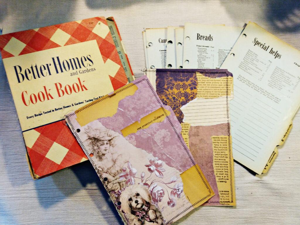 cookbook binder journal base