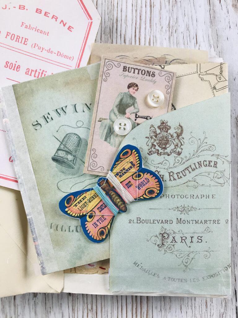 journal sewing kit