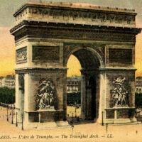 Arc de Triomphe Paris Illustration