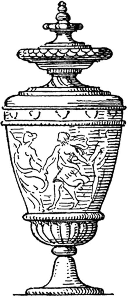 vintage closed urn image