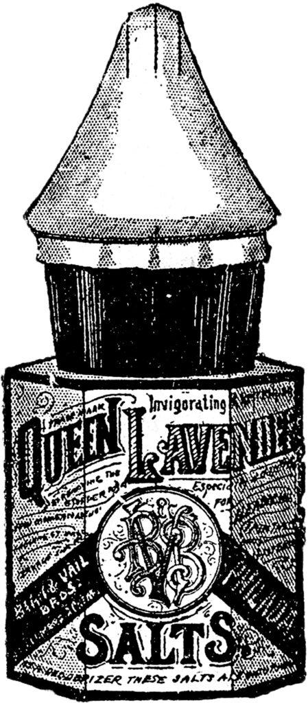Queen Lavender cologne vintage bottle image