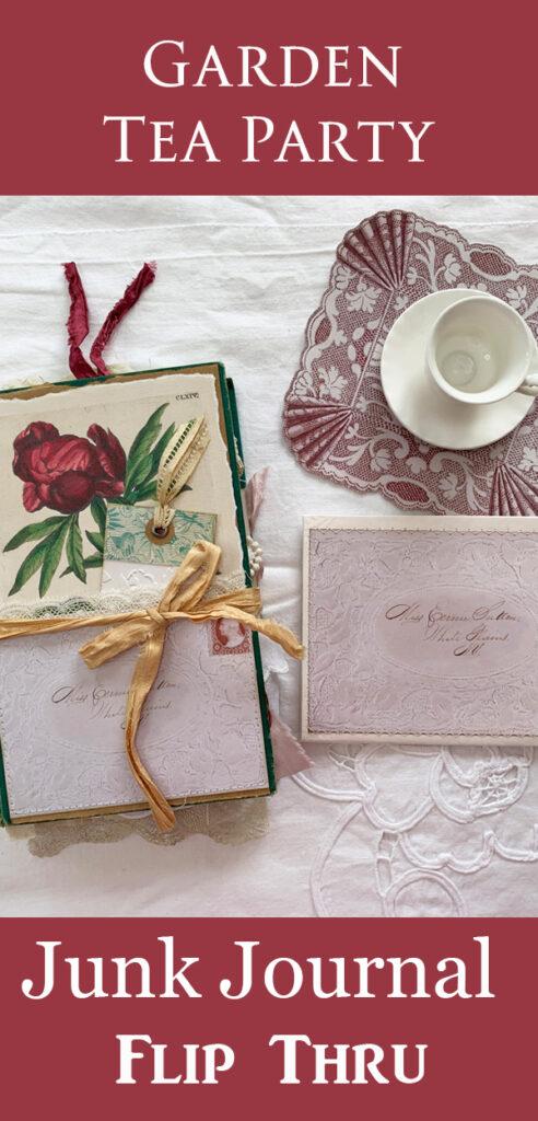 Garden Tea Party Junk Journal