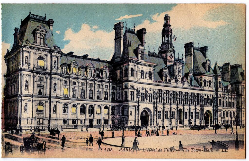 Paris building clipart