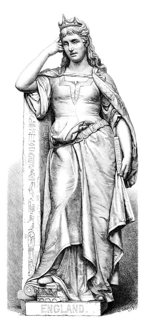 Queen statue England image