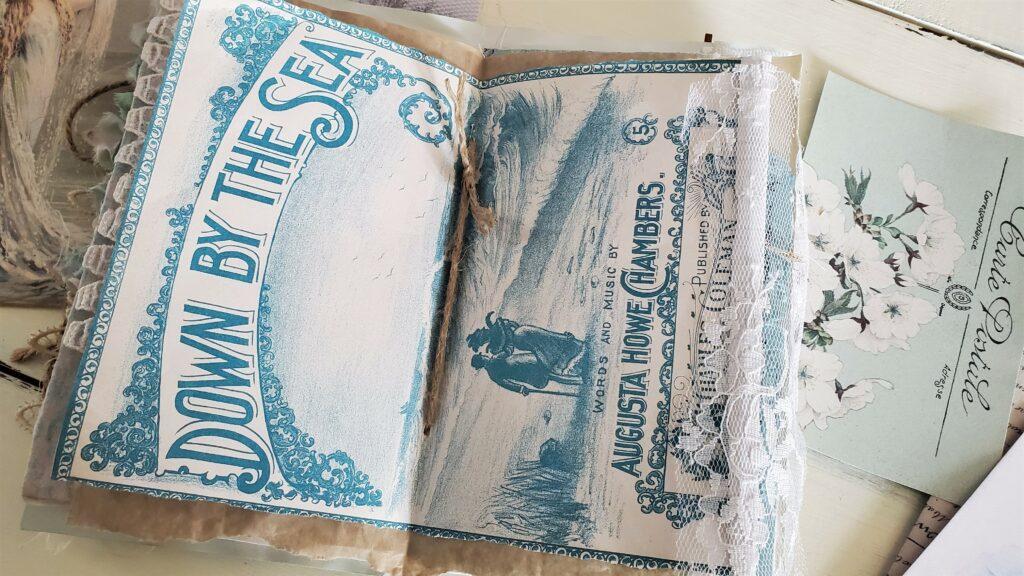 sheet music cover vintage ephemera