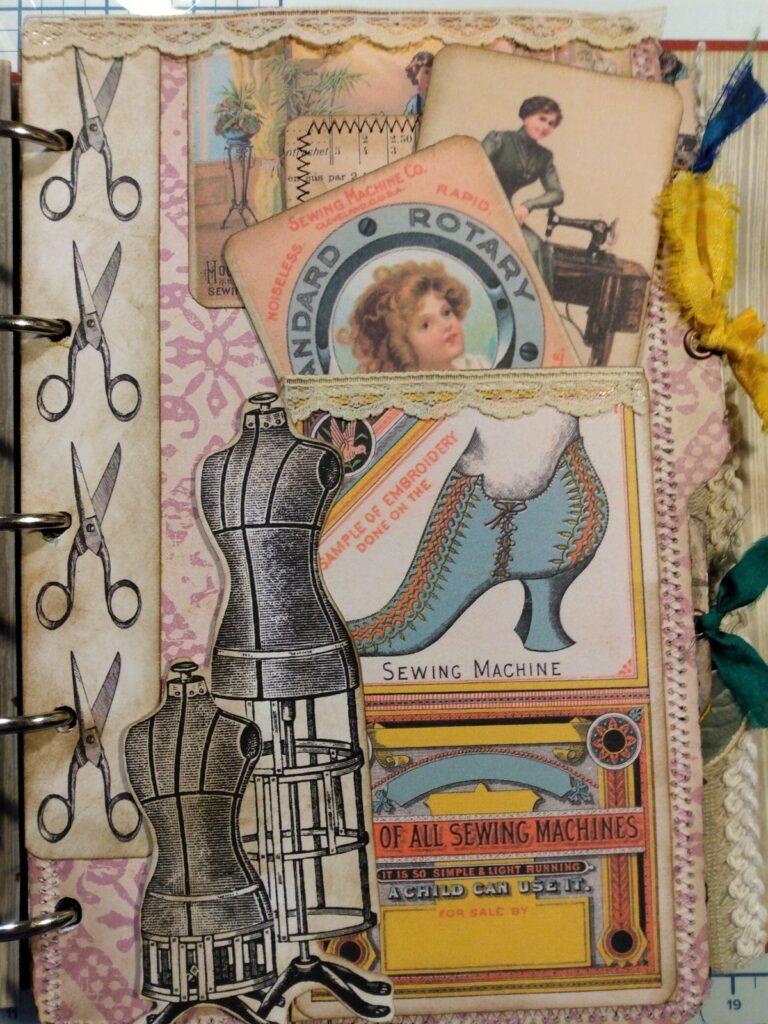 sewing ephemera page
