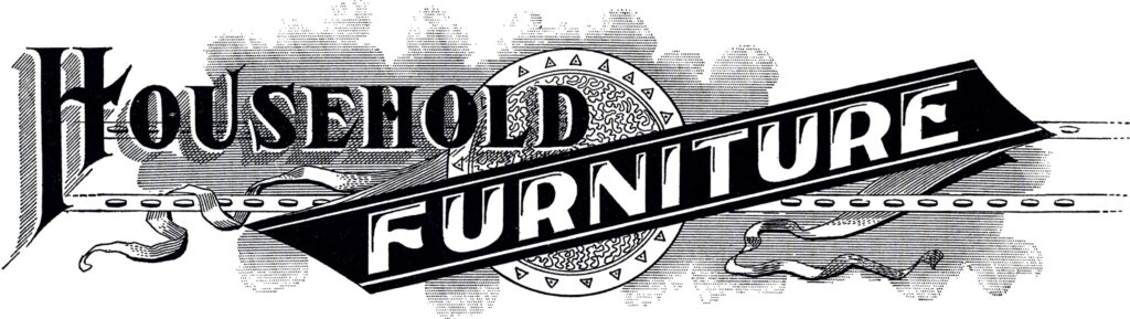 Household furniture sign image