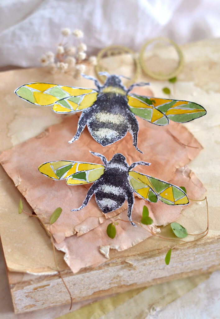 Making Paper Bees