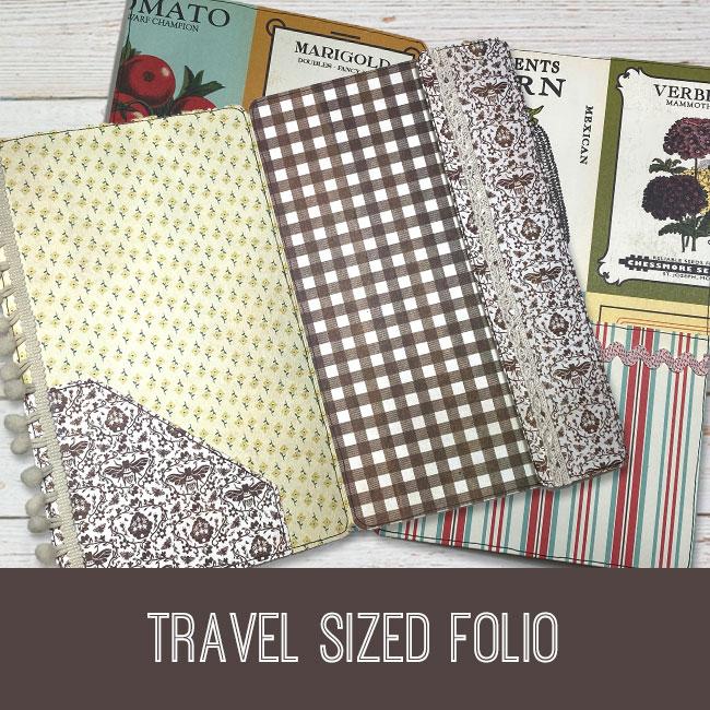 travel sized folio tutorial