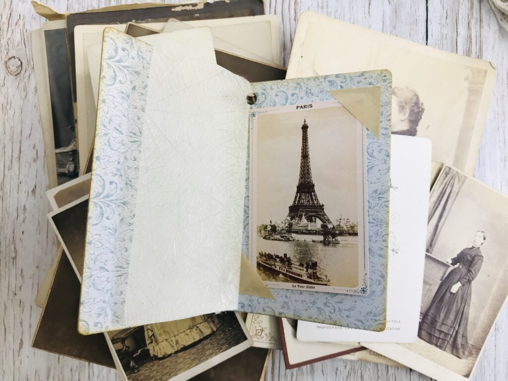 Eiffel Tower Journal Page
