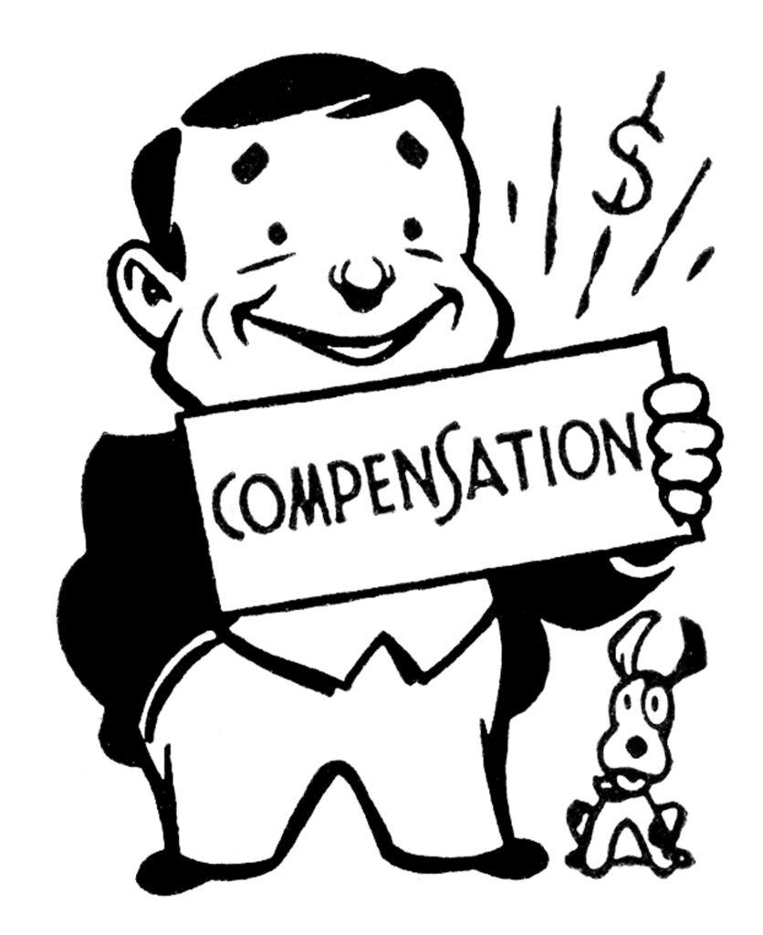 retro insurance salesman image