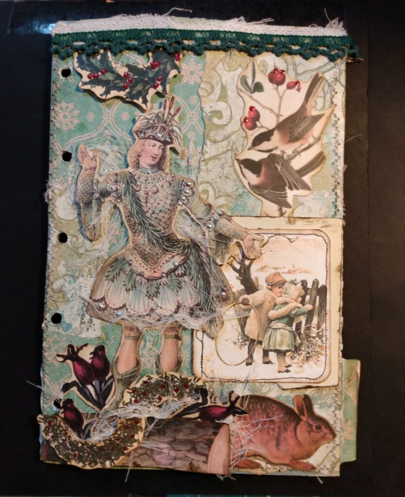 Jack Frost Journal Page