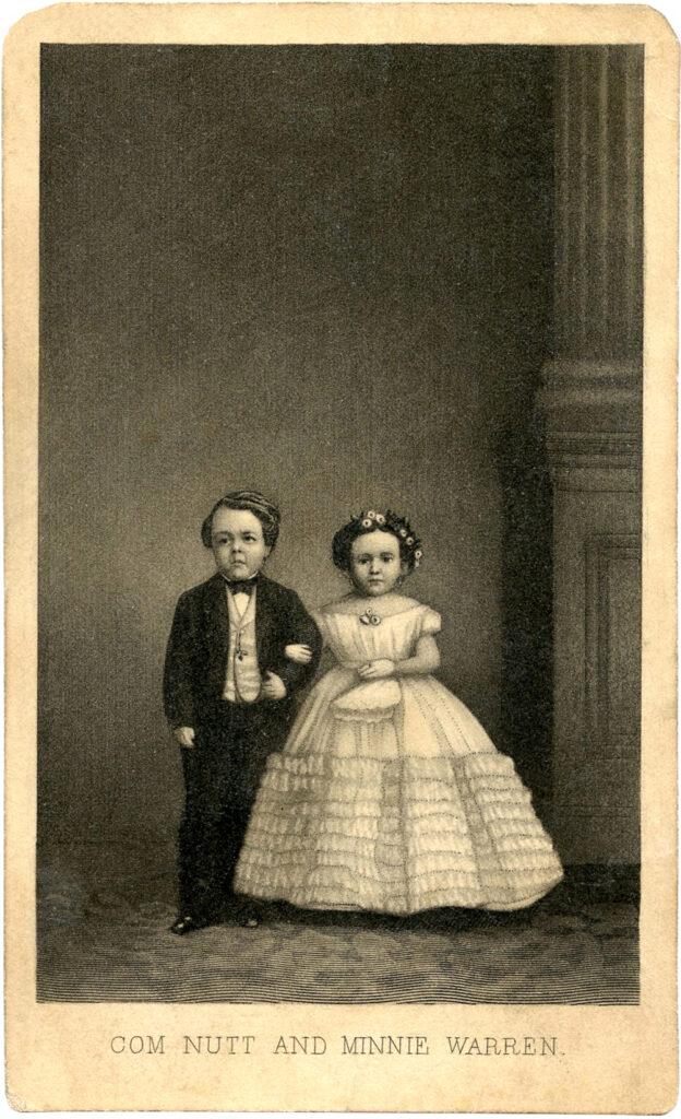 little people bride groom photograph image