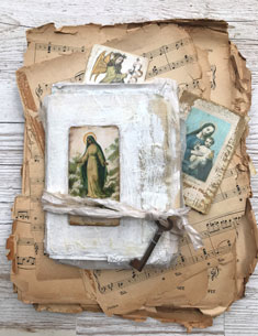 vintage Angels and Artifacts Junk Journal