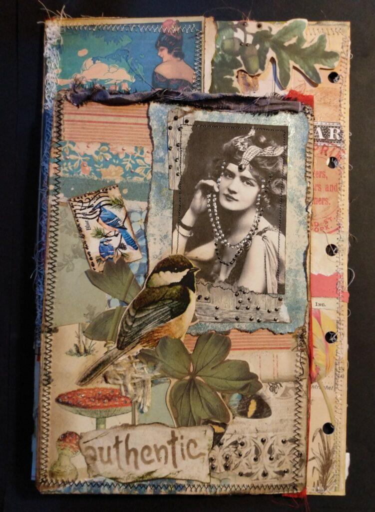 Bohemian lady pearls bird mushrooms image