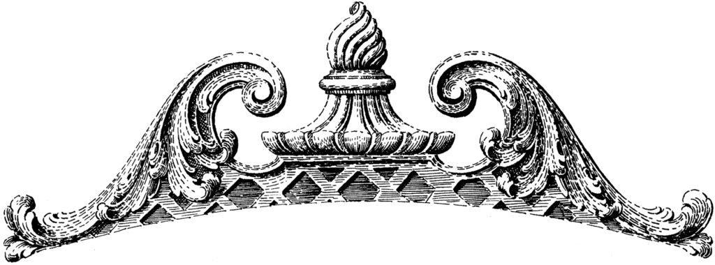 carved furniture molding image