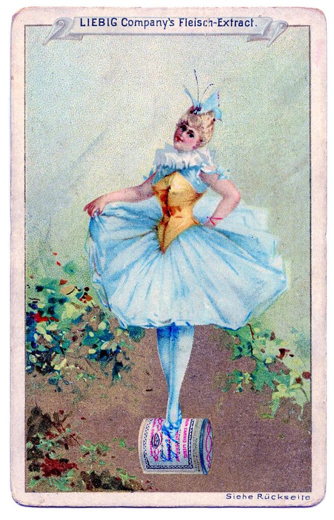 Liebig Fairy Trade Card Image