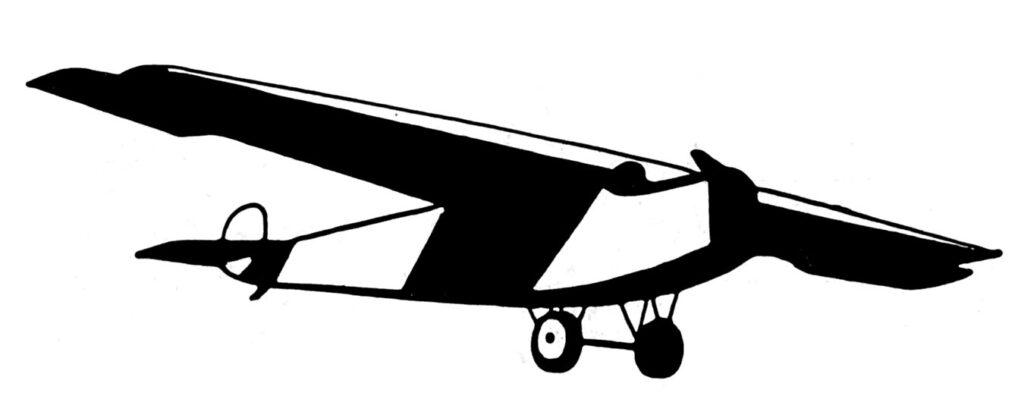 vintage airplane image