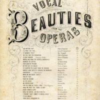 Vocal Beauties Opera sheet music image