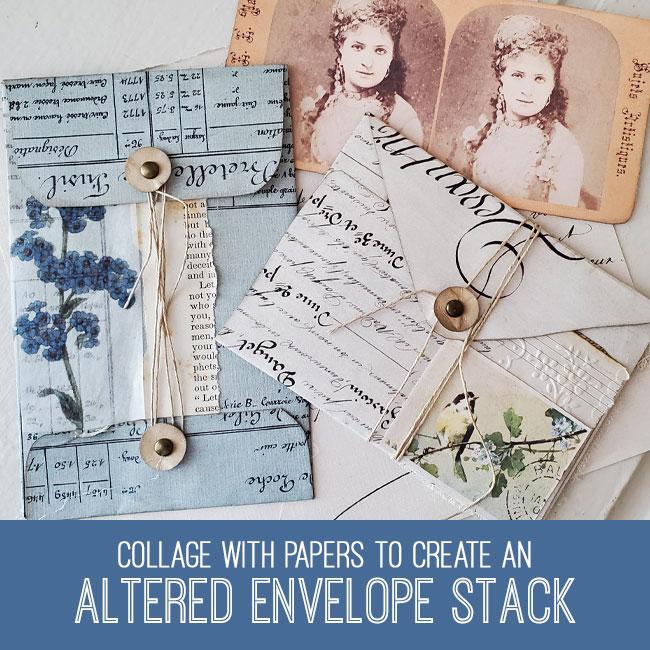 altered envelope stack tutorial