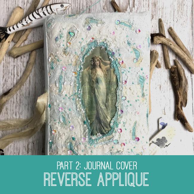 reverse applique journal cover tutorial