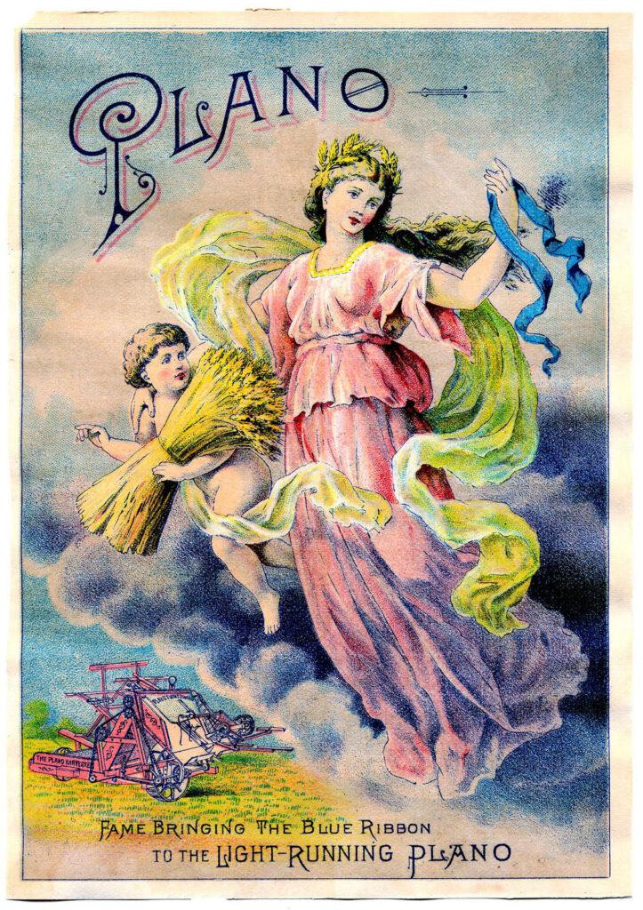 flying harvest fairy image