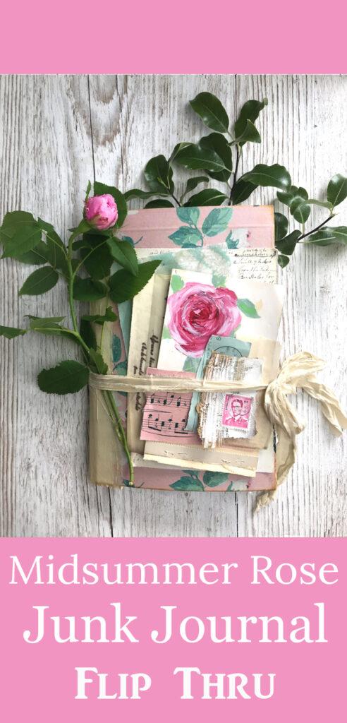 Misummer Rose Junk Journal