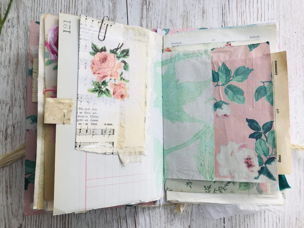 Rose Journaling Card