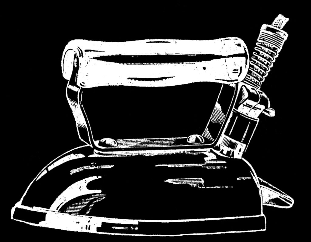 vintage iron image