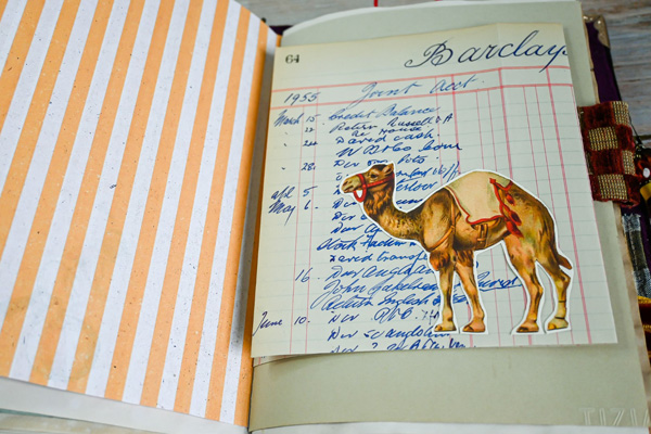 circus camel journal page