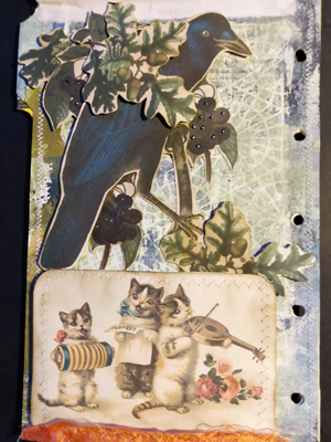 cat band raven journal page