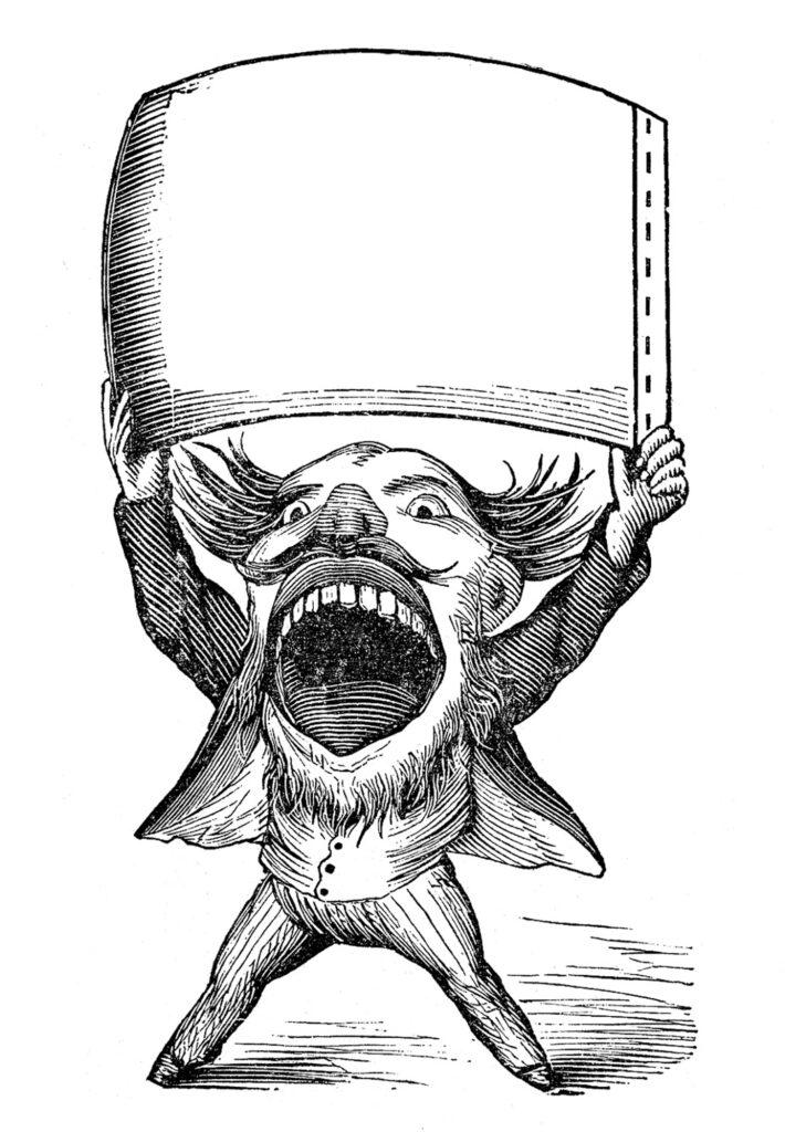 large mouth teeth man banner image