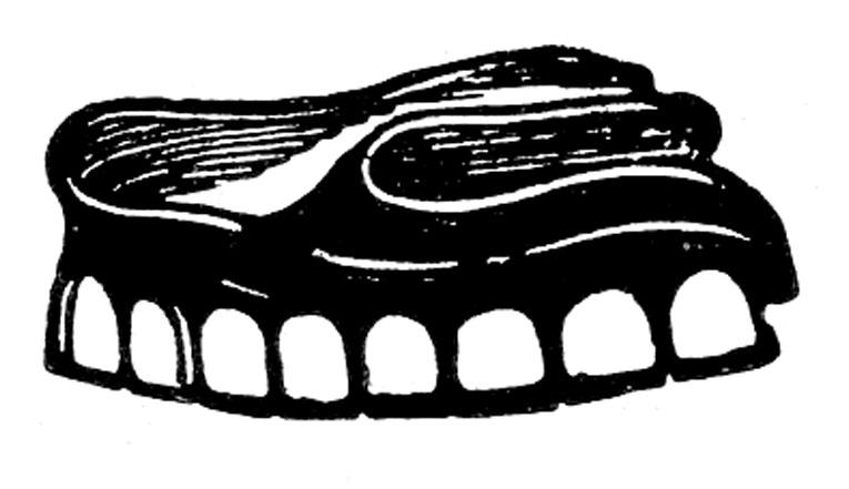 antique denture teeth image