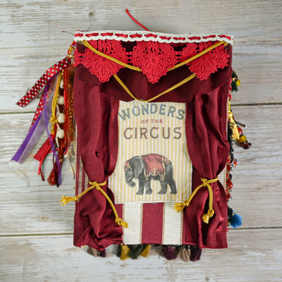 Vintage Circus Junk Journal