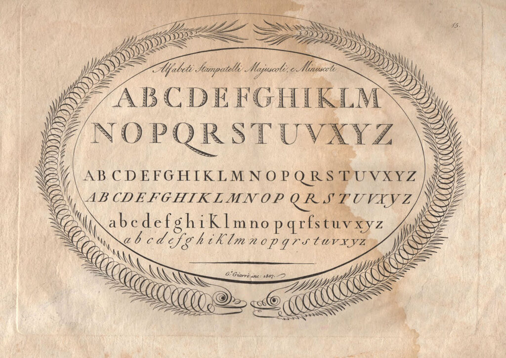 alphabet handwriting sample image