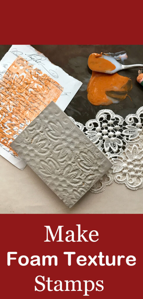 How to use Simon Hurley Stamping Foam