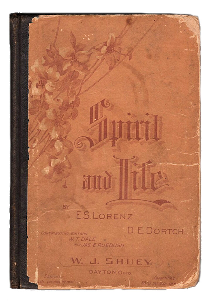 Spirit Life religious song book cover image