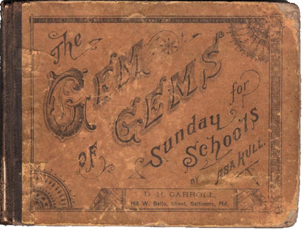 Gem of Gems Sunday school book cover image