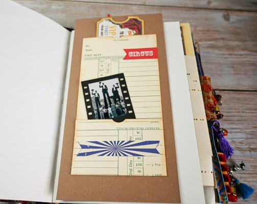 timecard journal pocket