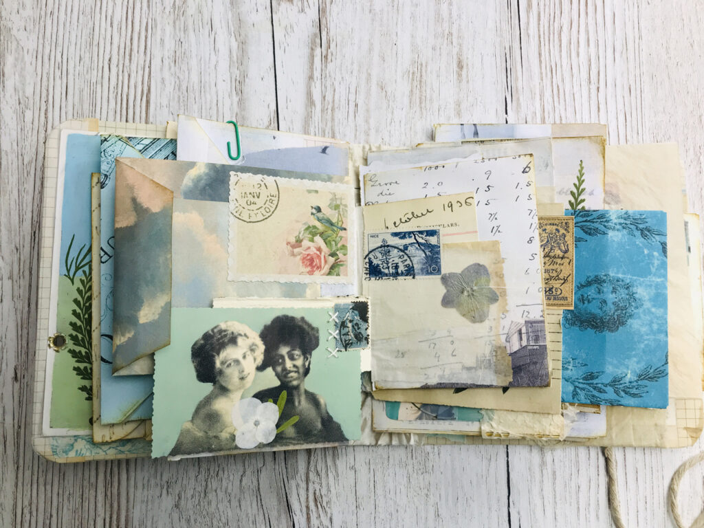 envelope junk journal structure