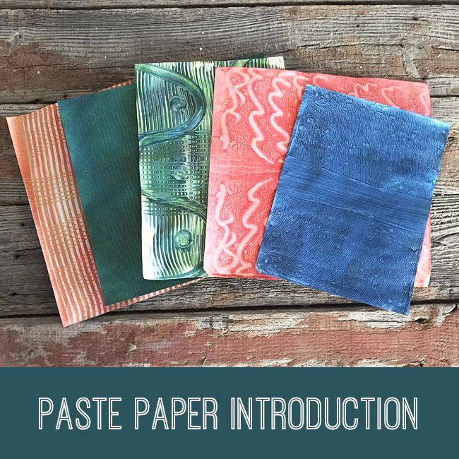 Paste Paper Introduction Tutorial