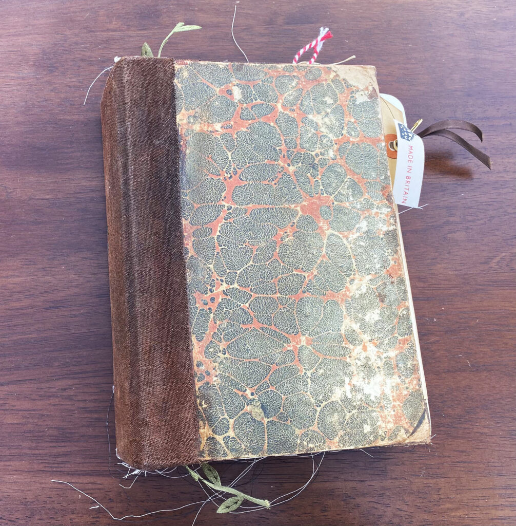 Ornithologist's Logbook Junk Journal Cover