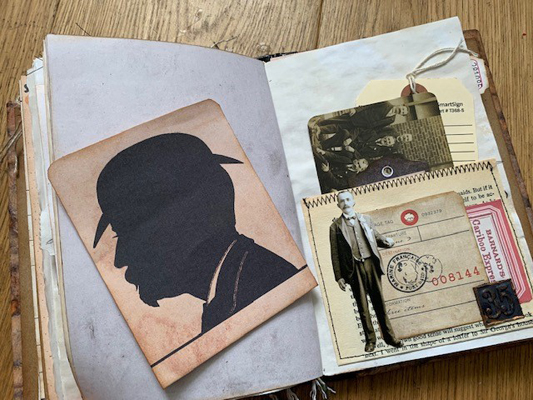 London Detective journal spread